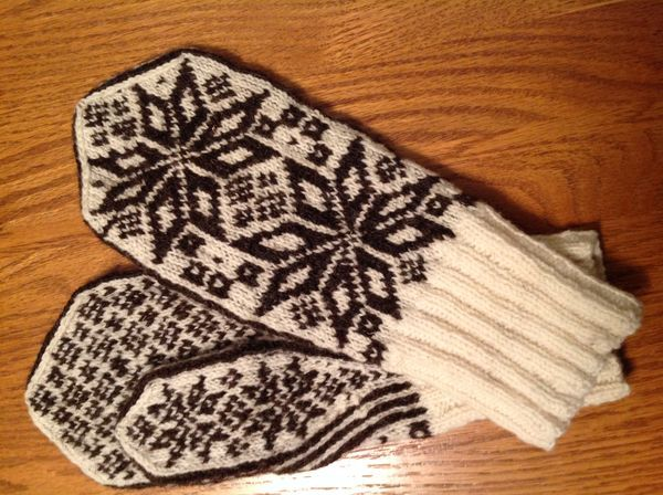 Loved knitting these mittens!