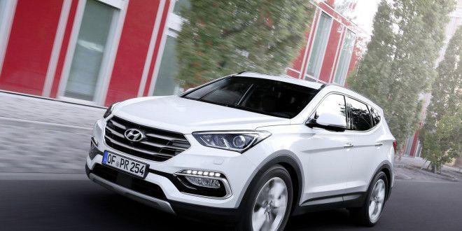 New Hyundai Santa Fe 2016 (Facelift) Showcased At Frankfurt http://www.carblogindia.com/new-hyundai-santa-fe-2016-facelift-pics-features-specs/