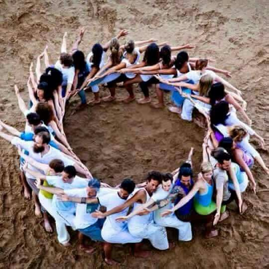 Collection Of Human Mandala Images From Around The World