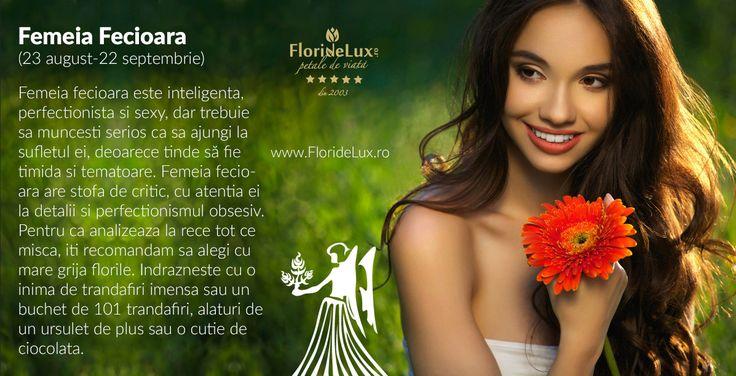 Flori speciale pentru femeia ingenua a zodiacului. Flori pentru femeia Fecioara, doar de la Flori de Lux!