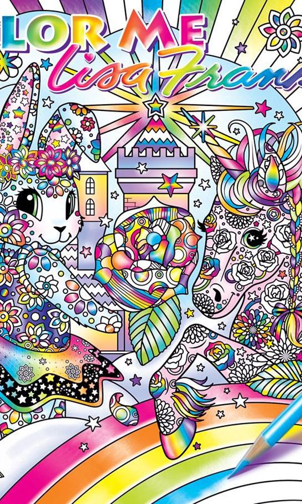 lisa frank to unveil new line of adult coloring books - Coloring Book Wallpaper