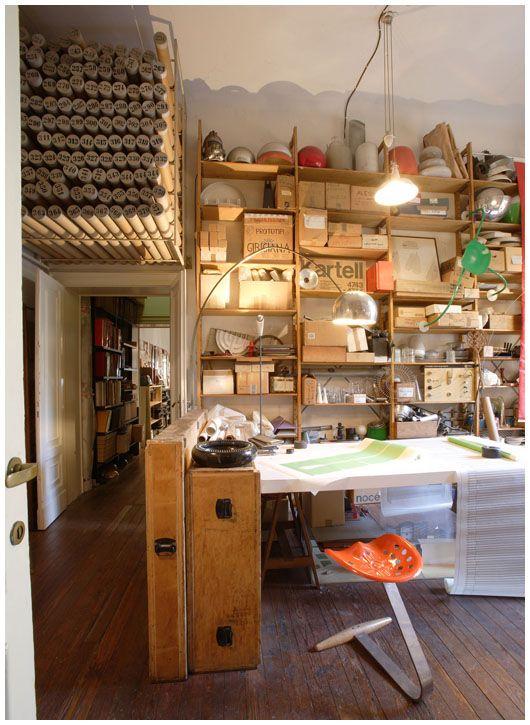 The Design Files: Studio Museo Achille Castiglioni