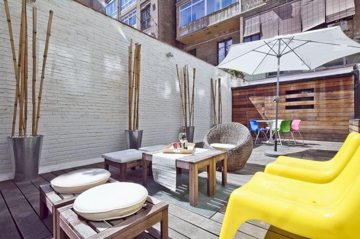 Appartement Chic avec Terrasse - Appartements à louer à Barcelone