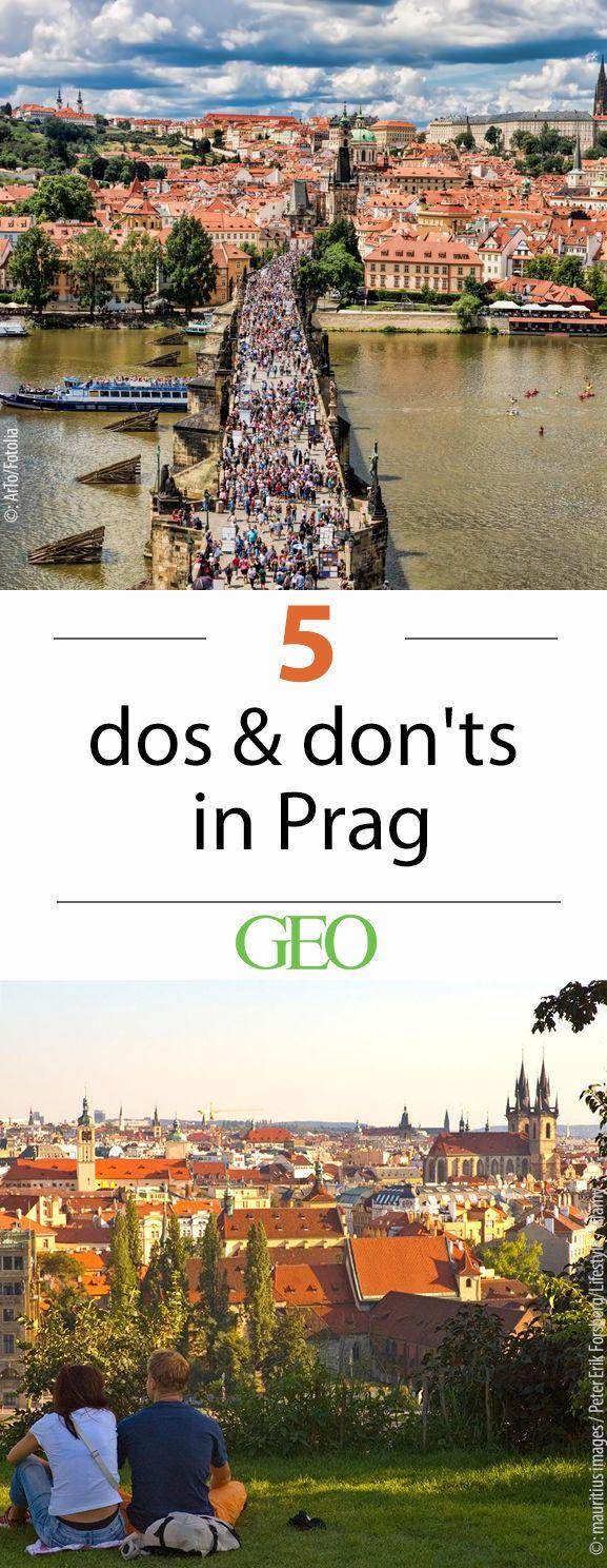 Fünf typische Fehler von Prag-Touristen − und was man lieber tun sollte