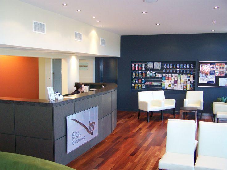 Dental Health Construction Fitout Reception - Cairns