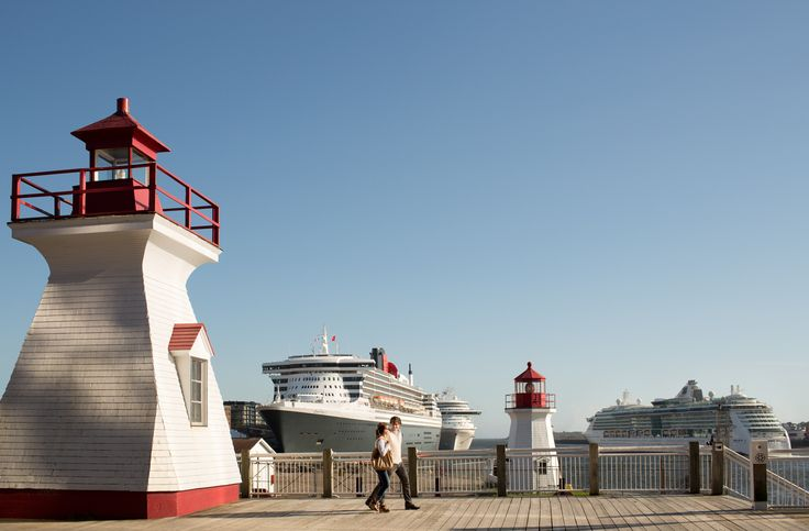 The Saint John Harbour is located in a prime spot for you to begin your shore excursion as soon as you dock. | Cruise excursions in New Brunswick, Canada