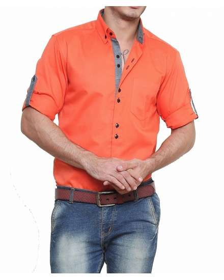 Buy Dazzio Men's Slim Fit Cotton Casual Shirt online shopping India | Men's Shirts | best price 845.00