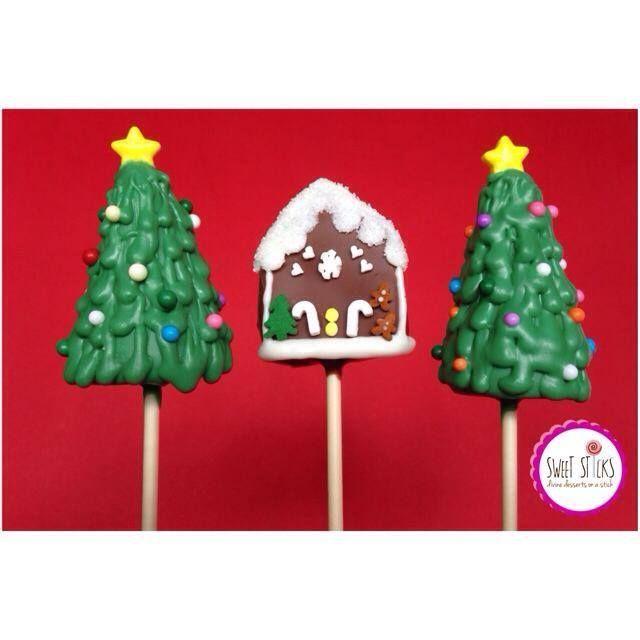 Christmas Pop Tutorials from November onwards with Sweet Sticks. www.sweetsticks.com.au