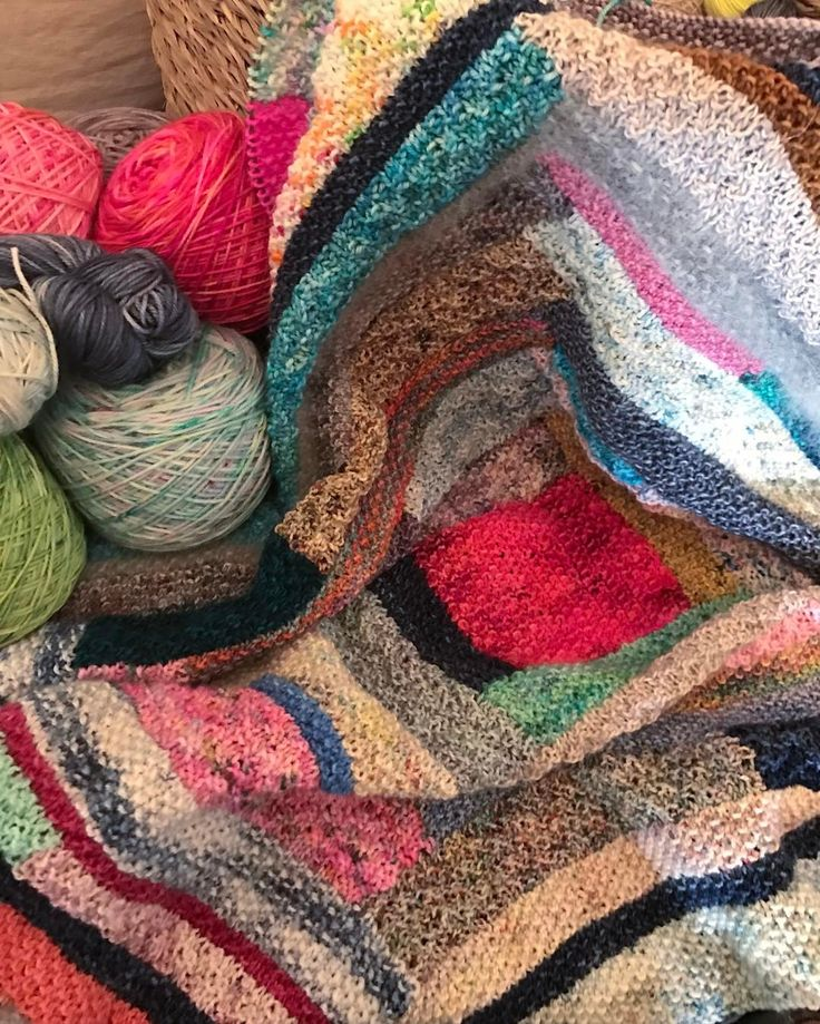 """40 Likes, 2 Comments - Themakerssuitcase (@themakerssuitcase) on Instagram: """"Looking forward to seeing the progress of our knitted long cabin blanket, this Friday at our next…"""""""