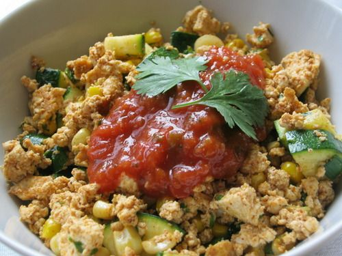 Southwestern Tofu Scramble Makes 4 servings, about 3/4 cup each ...