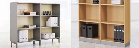EFG Storage: Åpne hyller