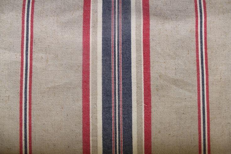 Lakeside Stripe Nautical (this fabric is railroaded)