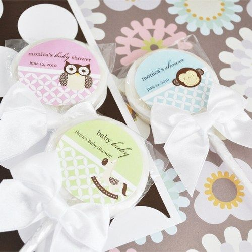 Baby Animal Lollipop Shower Favors Planning a baby shower? All your guests will ooh and aah over the sweet baby animal faces on these Personalized Lollipop Favors. - See more at: http://www.babyshowerway.com/baby-animal-lollipop-shower-favors.wedding#sthash.FeRFwsi3.dpuf