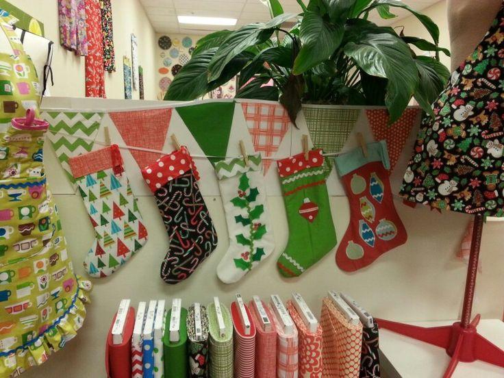 Holiday stocking workshop