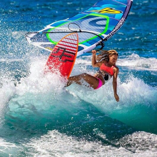 Windsurfing!  Make sure to check out http://www.talic.com for the best windsurfing storage rack
