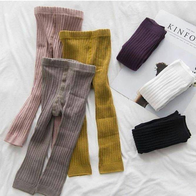 Coco Legging Ready Warna Ungu Size 0 1t Legging Buka Kaki Import Dgn Bahan Yang High Quality Girls Cotton Tights Kids Outfits Girls Baby Leggings Pattern