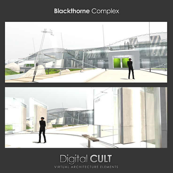 "Here's the new custom region built by Colpo Wexler (Digital Cult) -------> ""Blackthorne Complex"" <--------- http://maps.secondlife.com/secondlife/Blackthorne%20Complex/124/127/25 http://news.mydigitalcult.com"