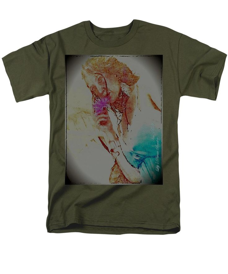 Men's T-Shirt (Regular Fit) featuring the photograph Love Notes by KiaRa