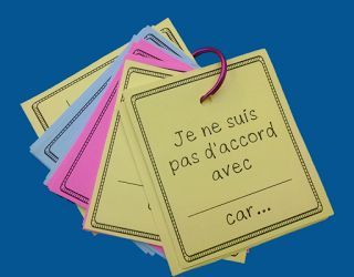 French sentence starters for intermediate and advanced classes who still need some help with their conversational language