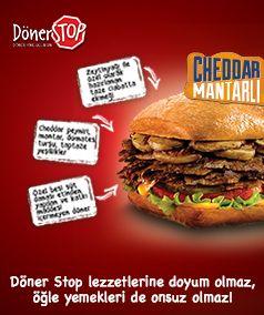 Döner Stop lezzetlerine doyum olmaz, öğle yemekleri de onsuz olmaz! #DonerStop #17burda #PalladiumAtaşehir #MaltepePark #DonerYineGelirsin #doner #neredeyesek #eniyidoner #fastfood #neyesek