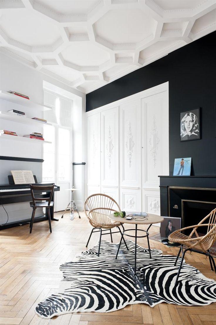 Best Appartement Haussmannien Images On Pinterest - Deco haussmannien moderne pour idees de deco de cuisine