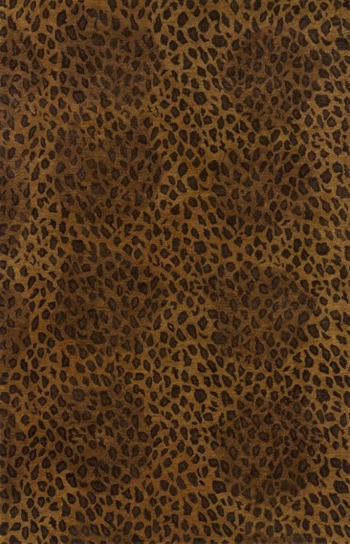 Momeni Serengeti 01 Rug In Cheetah Tan And Black