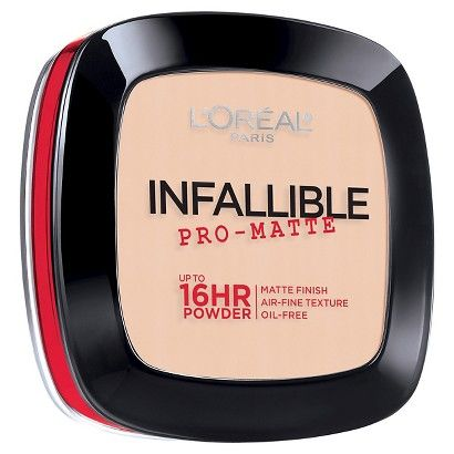 L'Oreal Paris Infallible Pro-Matte Powder - Porcelain 100. My current powder of the moment.