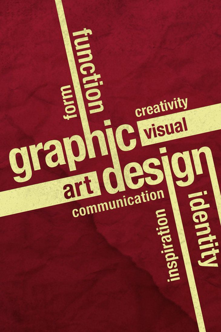 Design poster the best - Graphic Design Typography Poster By Outlawrave