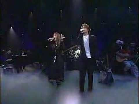 """Park Hyo Shin and Hwa Yo Bi - """"Endless Love"""" (Lionel Ritchie/Diana Ross) or maybe its the Luther Vandross/Mariah Carey version... idk... not sure it matters... ^^"""