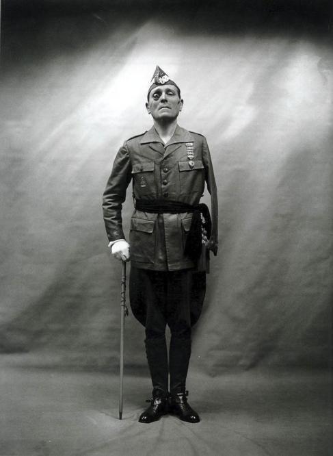 Fotografía de Alfonso. El general Millan-Astray.
