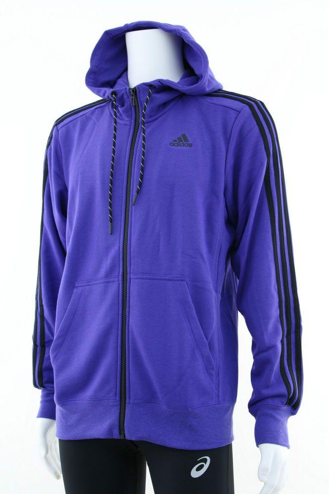 Adidas Hoodies Men s New Sweatshirt Jumper Size: M, L