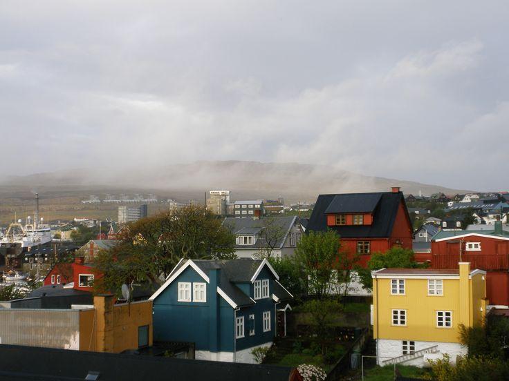 The colourful buildings of Tórshavn.