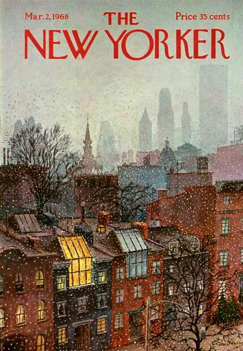 The New Yorker - March 2, 1968 - Cover by Albert Hubbell