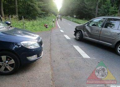 Leimen: Kradfahrer und Sozius bei Verkehrsunfall schwer verletzt