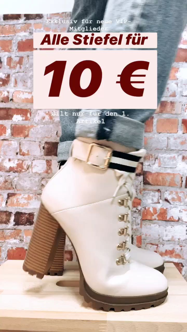 ⚡ NEUHEITEN ⚡ Alle Stiefel für 10€ 👠 😍