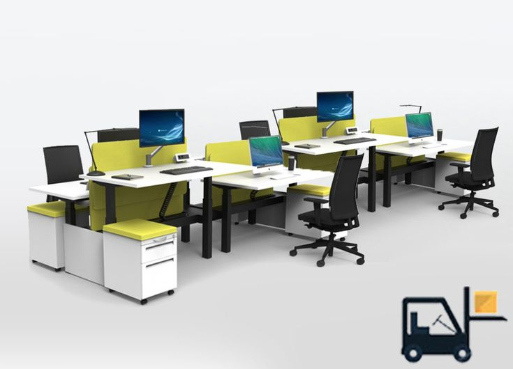 Sit Stand Desks   #RS2 BENCH 8A RISE Stand Up Workstation Packs Are