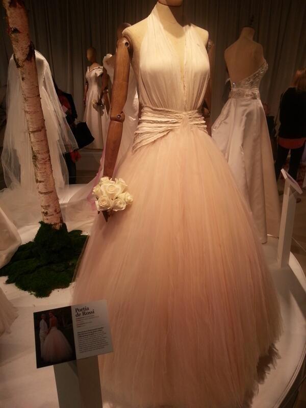 Portia De Rossi    Zac Posen    Wedding Dress