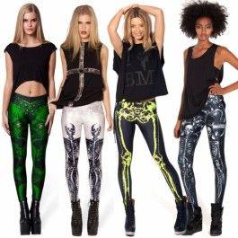 High Quality New Women\'s Fashion Stylish Pattern Printed Leggings Tights Pants