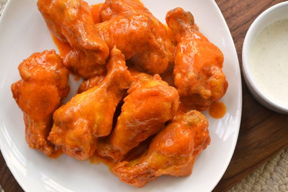 Pub style Buffalo Wings with Boursin Dip, pretty simple looking. No ...