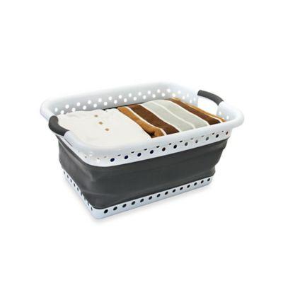 Collapsible Laundry Basket - BedBathandBeyond.com