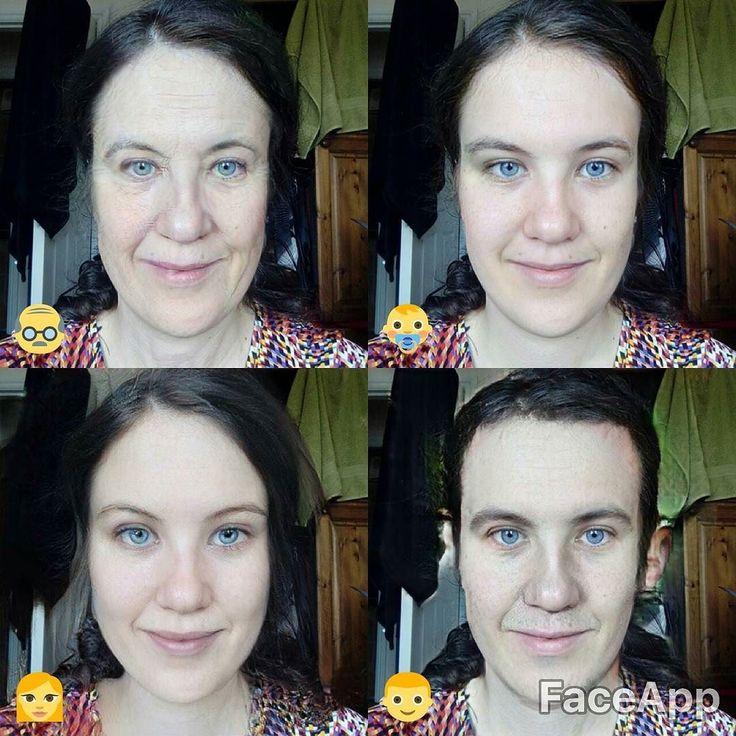 Jumping on the band wagon! Look at man me!  Phwoar! . . . . . . . . . #faceapp #faceapp #youngme #oldme #genderswap #genderflip #selfiesunday #selfietime #queer #queersofinstagram #sundayfunday #selfies #instasmile  #isthistoomanyhashtags #sillypost #feministkilljoy #hashtagsforchris #hashtagsfordon #hashtagsforedel #bandwagon #hereandqueer #limerick #Ireland