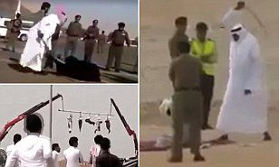 SHOCKING! The gruesome sight is one scene in a shocking documentary to be aired this week which sheds light on life in Saudi Arabia, one of the world's bloodiest and most secretive countries.