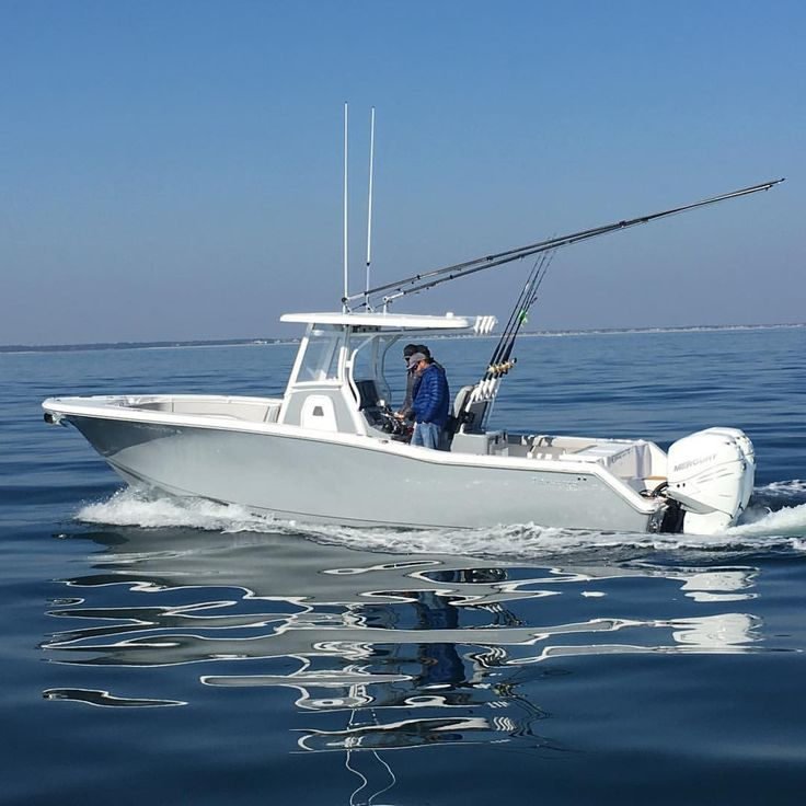Tidewater Boats 280 CC in carbon grey.