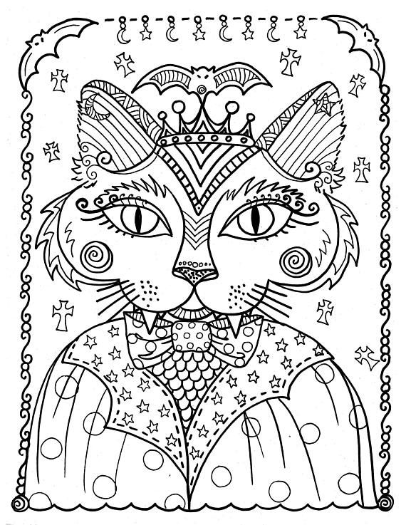 Распечатать картинки кошек мордашки антистресс, милых