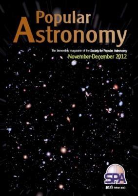 Popular Astronomy Kasım Aralık 2012 sayısı raflarımızda...