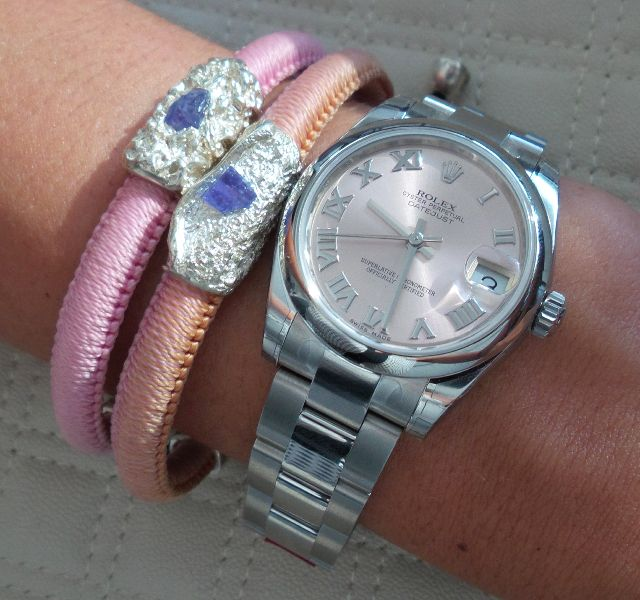 Uru Bracelets with Rolex, find it on www.urulux.com