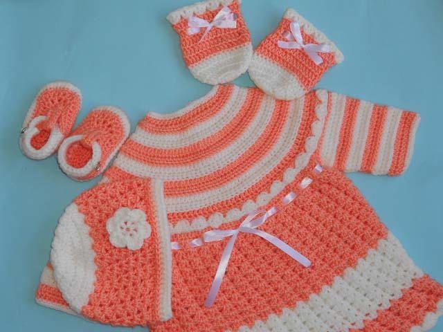 Mejores 1410 imágenes de Baby crochet en Pinterest | Escarpines ...