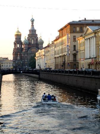 St. Petersburg...the Venice of Russia...so they say.