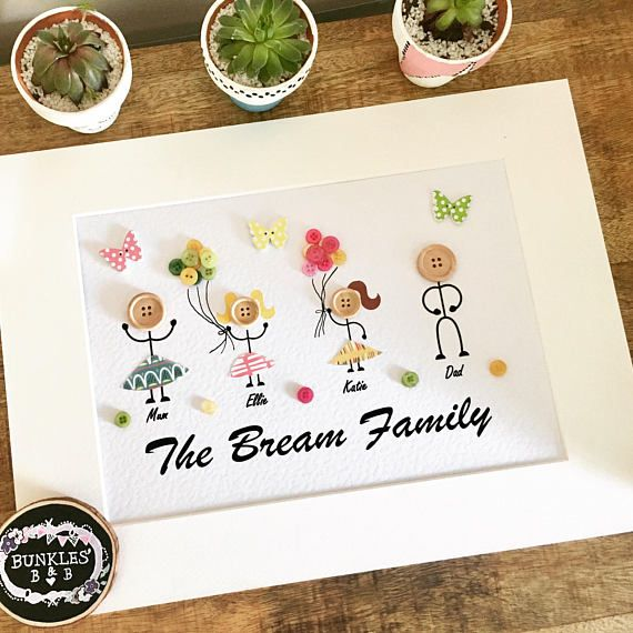 Hey, I found this really awesome Etsy listing at https://www.etsy.com/uk/listing/545519725/button-people-frame-button-art-family