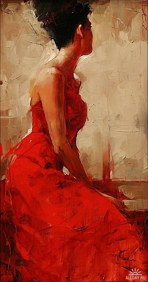 Andre Kohn -- in Red - beautiful